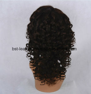 Hot 100% Brazilian Human Hair Full Lace Wigs pictures & photos