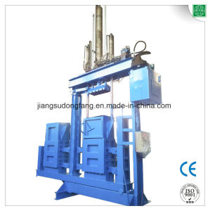 Y82s-63yf Double Chamber Vertical Cloth Compress Baling Machine pictures & photos