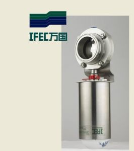 Stainless Steel SS304 Sanitary Butterfly Valves pictures & photos