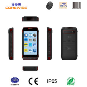 5 Inch Touch Screen Portable PDA Barcode Scanner Android Barcode Scanner Hf UHF RFID Reader Terminal pictures & photos