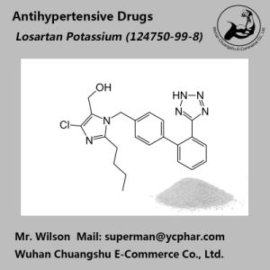 USP Pharmaceutical Materials Losartan Potassium Treatment of High Blood Pressure pictures & photos