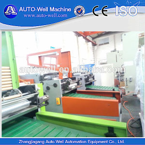 Automatic Foil Roll Rewinding Machine for Household pictures & photos