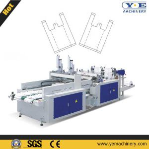 China T-Shirt Shopping Bag Making Machine pictures & photos
