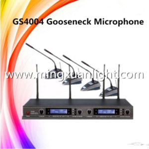 GS4004 4channels UHF Wireless Conference Room Microphone pictures & photos