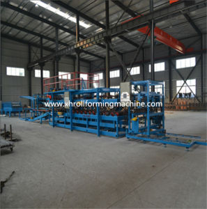 Rock Wool Sandwich Roof Wall Panel Production Line pictures & photos