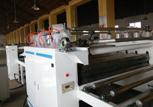 Woodworking Double Side Paper Laminating Line pictures & photos