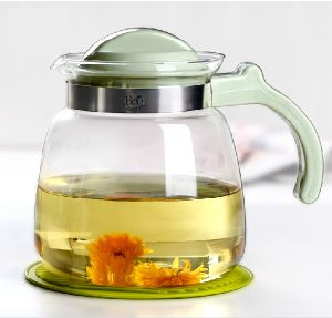 Heat Resistant Tea Pot Glass Kettle for Water and Drink pictures & photos