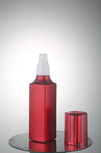 Aluminum Airless Perfume Glass Bottle for Cosmetic Packaging pictures & photos