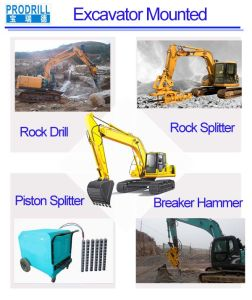Large Hydraulic Rock Splitters on Rock Area pictures & photos
