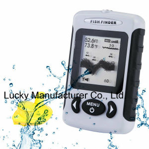 DOT Matrix Wireless Portable Sonar Fish Finder (FFW718) pictures & photos