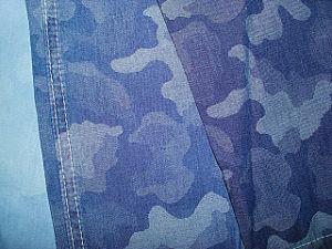 Selvage Cotton Slub Denim Twill Fabric pictures & photos