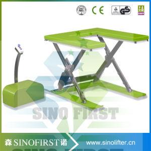 1ton 2.5ton 3ton Hydraulic Electric Pallet Scissor Lift Pallet Table pictures & photos