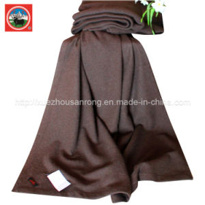 Yak Wool Fulling-Milling Blanket/ Cashmere Fabric/ Camel Textile/Bed Sheet/Bedding pictures & photos
