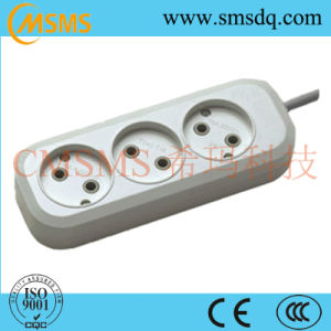 European Style 3way Extension Power Cord Socket -SMS42320r pictures & photos