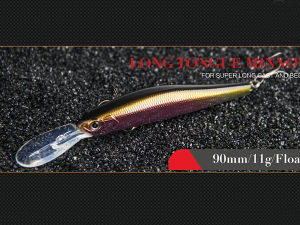 Plastic Fishing Lure (Long Tongue Minnow 90mm Floating) pictures & photos