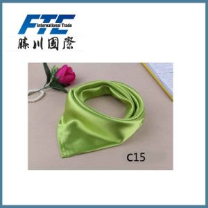 Custom Square Silk Scarf for Lady pictures & photos