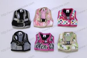 Printed Fabric Dog Harness Clothes (YD304) pictures & photos