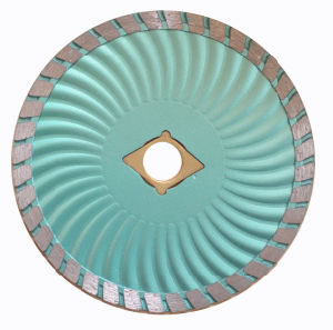 Diamond Turbo Saw Blade with Wave Body