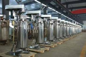 Vertical Centrifugal Oil Water Separation Machine pictures & photos