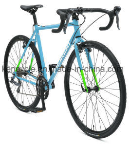 700c 16 Speed Cr-Mo Steel Fixed Gear Bike /Utility Road Bike for Adult Bike and Student/Cyclocross Bike/Road Racing Bike/Lifestyle Bike pictures & photos