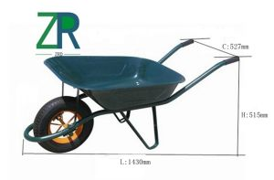 Wb6404 Russia Wheel Barrow pictures & photos
