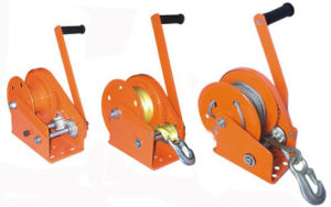 Hand Winch with Wire Rope or Webbing Belt pictures & photos