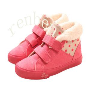 Hot Fashion Children′s Canvas Shoes pictures & photos