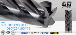 Solid Carbide Square Variable Helix End Mills for Medium Alloy Steels pictures & photos