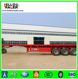 Factory Selling 3 Axle 40FT Container Trailer with Twist Locker pictures & photos
