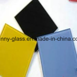 2mm-6mm Color Painted Glass (White, black, yellow, blue, green, beige colors) pictures & photos
