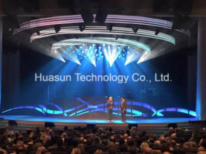 Full Color Light Weight Curved Flexible LED Display pictures & photos