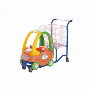 Baby Car Seat Shopping Trolley by Yuanda Supermarket Equipments pictures & photos