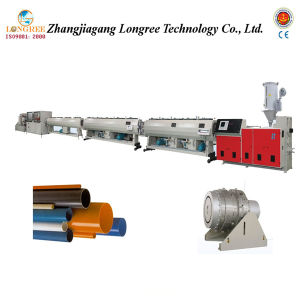 Plastic PVC/PP/PPR/PE Water Supply Pipe Extrusion Line pictures & photos