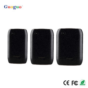 Imitation Leather Power Bank with 10000mAh, 10000mAh Power Bank (Guoguo-018)