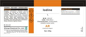 High Purity Iodine Analytical Grade for Lab Test pictures & photos