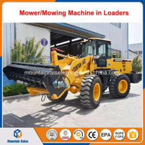 936 Pay Wheel Loader with Concrete Mixer Bucket Attachment pictures & photos