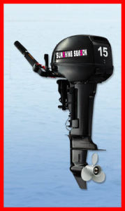 2 Stroke Outboard Motor for Marine & Powerful Outboard Engine (T15BMS) pictures & photos