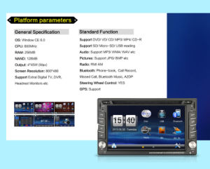 Car DVD Video Player with GPS Navigation pictures & photos