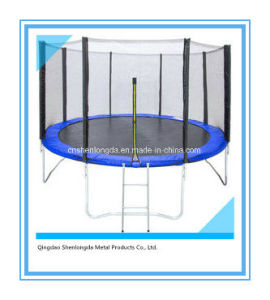 8FT Outdoor Kids Jumping Trampoline with Safety Enclosure pictures & photos