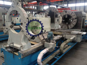CW6636 series horizontal large spindle Oil country lathe machine pictures & photos