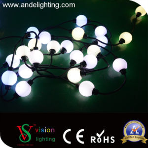 Color Changeable DMX 512 RGB Christmas String Ball Lights pictures & photos