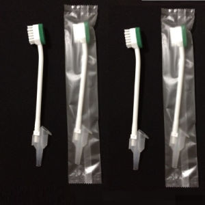 Disposable Suction Toothbrush for Medical Use pictures & photos