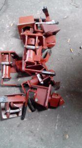 Single Revolving Semi Trailer Container Twist Lock pictures & photos