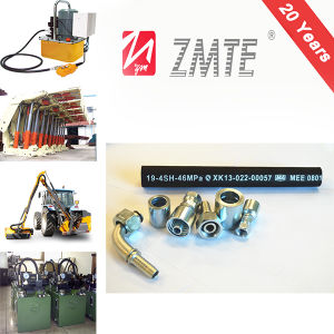 Zmte High Woking Pressure Flexible Rubber 4sh Hydraulic Hose pictures & photos