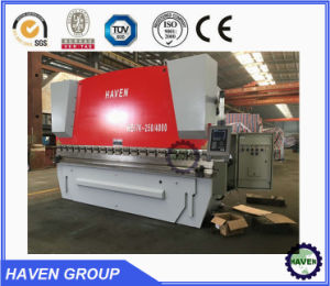 WE67K-200X3200 CNC Electric Hydraulic Synchronization Hydraulic Press Brake pictures & photos
