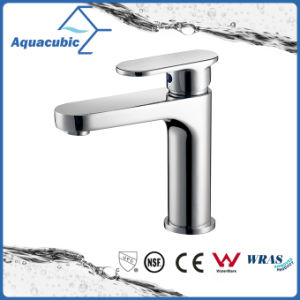 Upc Bathroom Single Handle Brass Basin Faucet (AF6070-6) pictures & photos