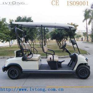 EEC Approved 4 Seaters Mini Electric Golf Car for Sale pictures & photos