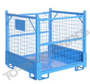 Foldable Steel Mesh Container Lk 21 pictures & photos