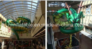 Hot Selling Beautiful Giant Advertising Golden Inflatable Dragon