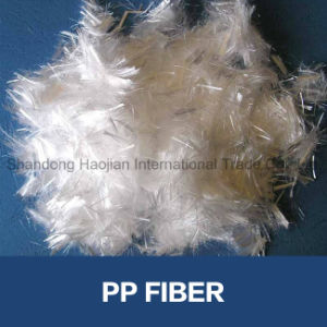 Polypropylene Fiber/PP Fiber for Interior Wall Putty Powder pictures & photos